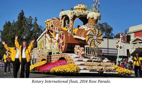 rotary float