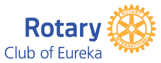 Rotary Club of Eureka Sticky Logo