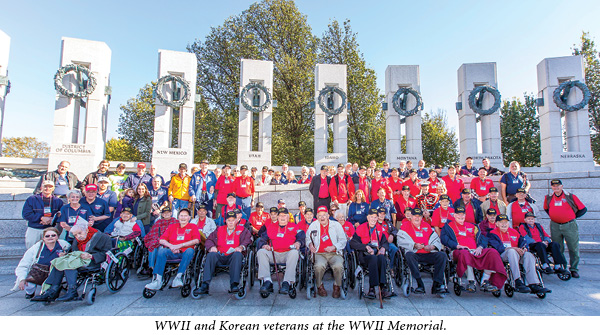 rotary honor flight trip