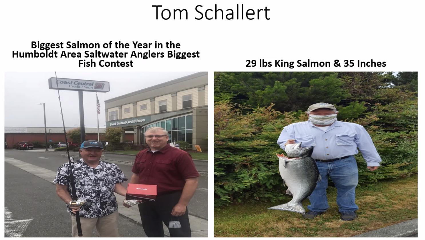 Tom Schallert wins award